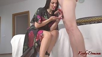 Hot Milf Christine Milks Your Penis